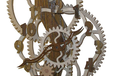 horloge serpentine Roland Dutoya artisan horloger