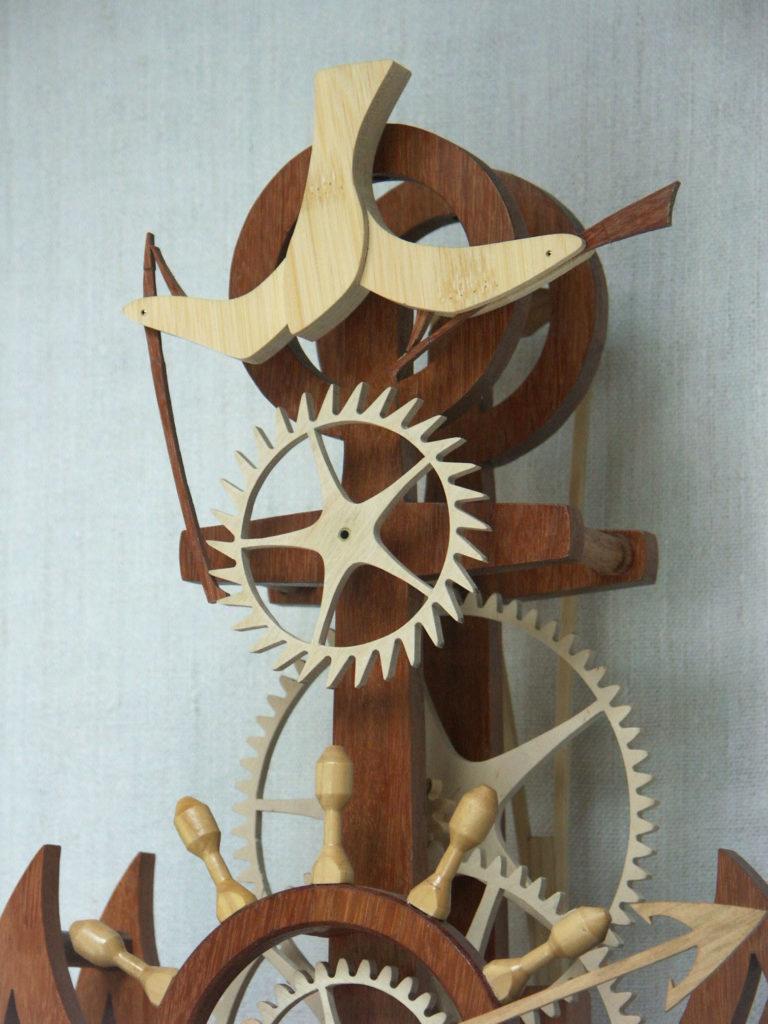 horloge marine par Roland Dutoya