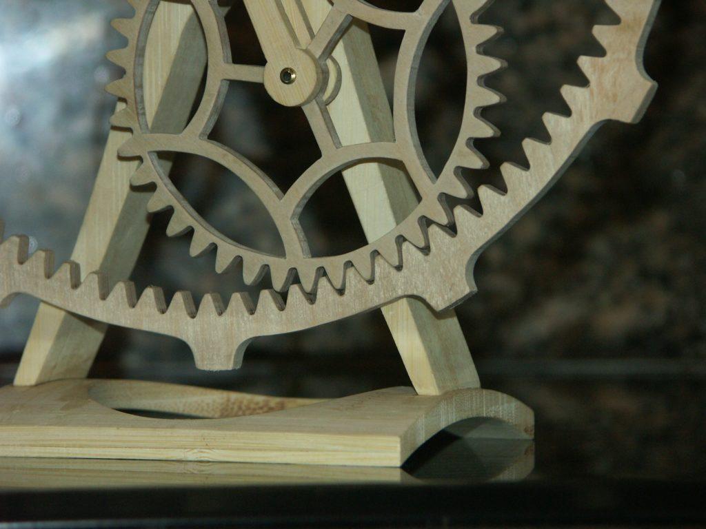 pignons horloge artisanale Roland Dutoya