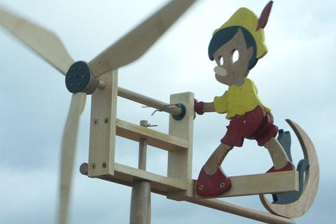 Girouette Pinocchio