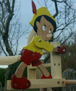 Girouette Pinocchio Dutoya