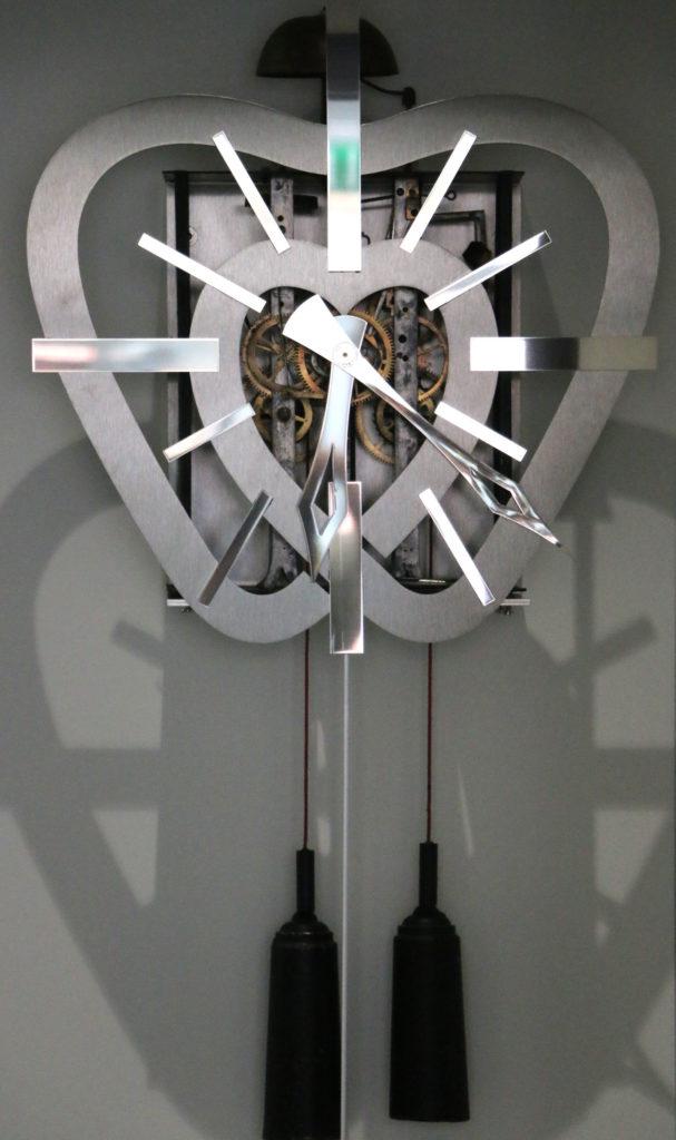 Rénovation horloge comtoise Roland Dutoya